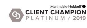 Client Champion award for Julie Camden.