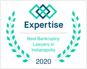 Camden & Meridew has received the Expertise Award in the category of Best Indianapolis Bankruptcy Attorneys in Indianapolis.
