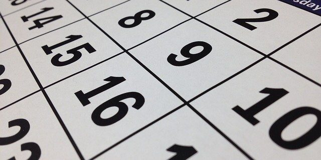 Image of a calendar representing how an experienced attorney from Camden & Meridew can help determine if you meet the required deadlines for filing an Indiana lawsuit.