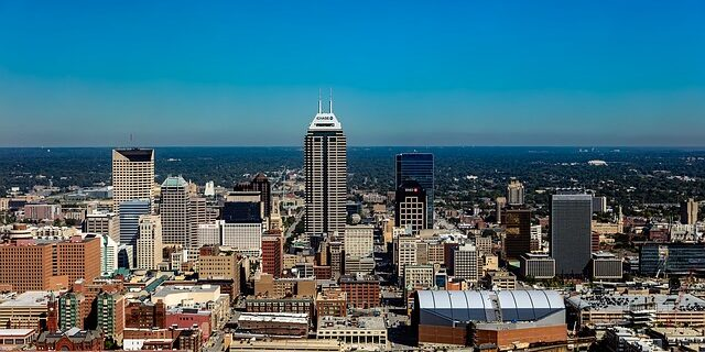 Image of downtown Indianapolis, representing the designated Indianapolis opportunity zones and how an Indiana QOZ attorney can help you evaluate your investment options.